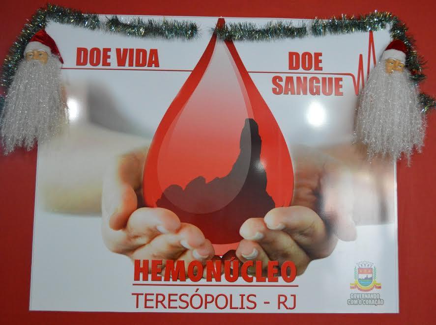Hemonúcleo de Teresópolis intensifica, via internet, campanha de doação voluntária de sangue