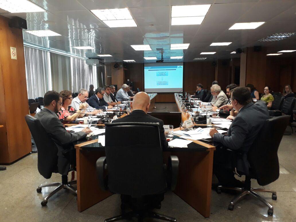 Presidente do Sindicato dos Aposentados da CSB, Lucio Antonio Bellentani, representou a Central na reunião do Conselho Nacional da Previdência Social